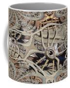 Wagon Wheel Fractal Coffee Mug