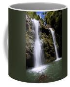 Waikani Falls And Pond Coffee Mug