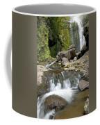 Wailua Falls And Rocks Coffee Mug