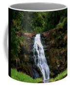 Waimea Valley Falls Coffee Mug