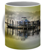 Waiting Boats Coffee Mug