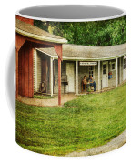 Waiting By The General Store Coffee Mug by Paul Ward