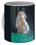 Waiting - Horse Portrait Coffee Mug