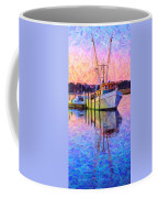 Waiting In The Harbor Coffee Mug