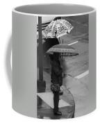 Waiting In The Rain Coffee Mug
