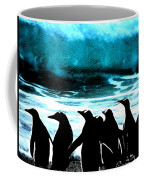 Waiting To Take Action Coffee Mug by Colette V Hera  Guggenheim