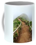 Walking Into The Clouds Coffee Mug by Gaspar Avila