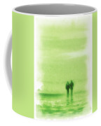 Walking On Green Coffee Mug
