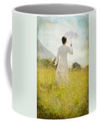 Walking On The Meadow Coffee Mug