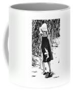 Walking The Shoreline Coffee Mug