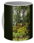 Walking Through An Autumn Garden Coffee Mug