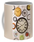 Wall Clocks Coffee Mug