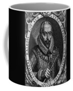 Walter Raleigh, English Courtier Coffee Mug