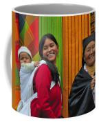 Wandering Through The Market Coffee Mug by Tony Beck