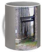 Warehouse Beams And Grafitti Coffee Mug