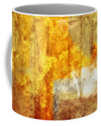 Warm Abstract Coffee Mug by Brett Pfister