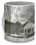 Warm Gazebo On A Cold Day Coffee Mug