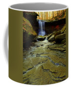 Warm Sky Cool Water Coffee Mug by Frozen in Time Fine Art Photography