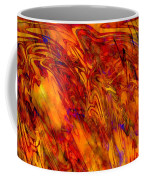 Warmth And Charm - Abstract Art Coffee Mug