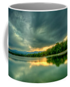 Warren Lake At Sunset Coffee Mug