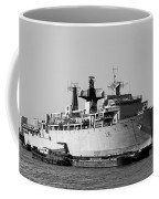 Warship Hms Bulwark Coffee Mug by Jasna Buncic