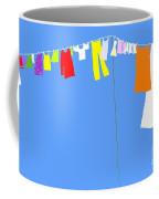 Washing Line Simplified Edition Coffee Mug