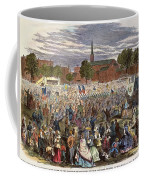 Washington: Abolition, 1866 Coffee Mug