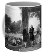Washington And Lafayette, Mount Vernon Coffee Mug