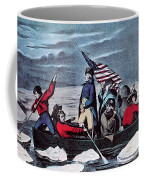 Washington Crossing The Delaware, 1776 Coffee Mug