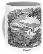 Washington, D.c., 1840 Coffee Mug