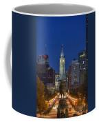 Washington Monument And City Hall Coffee Mug