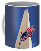 Washington Monument Flag Coffee Mug