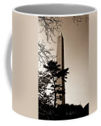 Washington Monument In Sepia Coffee Mug