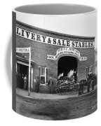 Washington: Stables, 1865 Coffee Mug