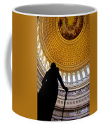Washington Under Capitol Dome Coffee Mug