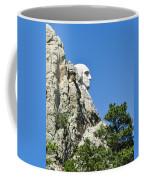 Washinton On Mt Rushmore Coffee Mug