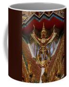 Wat Hua Lamphong Ubosot Roof Garuda Dthb1065 Coffee Mug