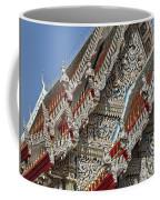 Wat Suan Phlu Ubosot Angel Gable Finials Dthb227 Coffee Mug
