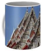 Wat Suan Phlu Ubosot Gable Dthb1132 Coffee Mug