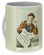 Watch Trade Card, C1880 Coffee Mug
