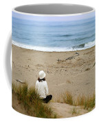 Watching The Ocean Coffee Mug