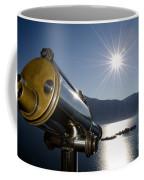 Watching With A Telescope Islands Coffee Mug