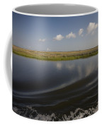 Water And Marsh In Plaquemines Parish Coffee Mug