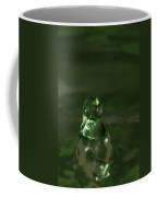 Water Drop Abstract Green 17 Coffee Mug