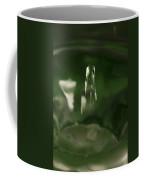 Water Drop Abstract Green 27 Coffee Mug