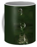 Water Drop Abstract Green 6 Coffee Mug