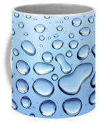 Water Drops Coffee Mug by Carlos Caetano