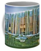 Water Fall Building Coffee Mug