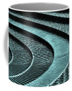 Water Feature - Aqua  Coffee Mug