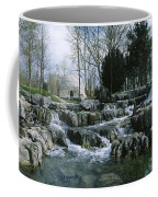 Water Flowing In A Garden, St. Fiachras Coffee Mug